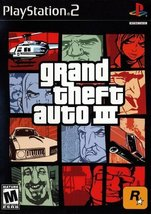 Grand Theft Auto III - PS2 [PlayStation2] - $3.91