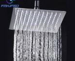 Holesale and retail 8 chrome brass shower head over head shower sprayer top shower thumb155 crop