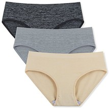 Innersy Women's Seamless Panties No-Show Panty Lines Briefs 3-PackBasics, M - $23.63