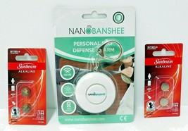 NEW Nano Banshee Personal Self Defense Alarm Security Protection Free Ba... - $15.19
