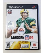 MADDEN NFL 09 - PlayStation 2 PS2 Black Label Video Game CIB Complet BRE... - $6.88