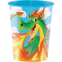 Dragon Plastic Keepsake Cup 16 oz./Case of 12 - $30.00