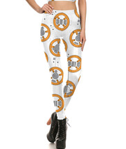 Star Wars BB8 Droid Women's Cosplay Fitted Pants Legging - $24.99