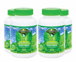 Youngevity Sirius Ultimate Enzymes 120 capsules 4 Pak Free Shipping - $96.70