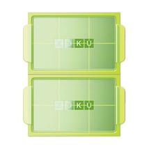 Zoku Jumbo Ice Tray in Green (Set of 2) - $14.99