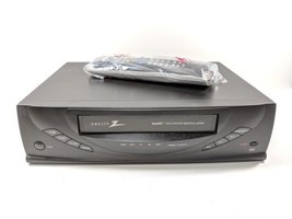 Zenith VCR Model VRB420 4 Head Hi-Fi With Universal Remote Control  - $69.99