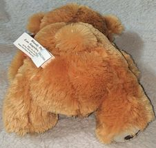 Woody Toys 76229S 10 Inch Burnt Orange Bear With A Paw Print Bow image 4