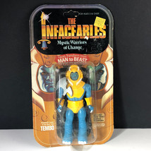1984 Galoob Infaceables Vintage Action Figure Moc Warriors Change Tembo Mammoth - $296.95