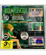 """Jill of the Jungle PC 3.5"""" Floppy Disk DOS Wiz Technology NEW SEALED RARE - $33.77"""