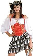 Forum Novelties Women's Pirate's Treasure Costume, Multicolor, Standard - $41.89