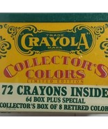 Vintage Sealed Crayola Collectors Colors Limited Edition Tin w/Crayons 1... - $9.40