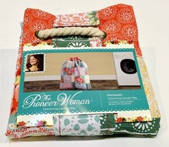 """The Pioneer Woman Drawstring Laundry Bag - """"Patchwork"""" 15.75""""x7""""x26"""" - NEW! - $13.99"""