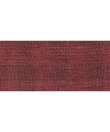 28ct Natural/Aztec Red Gingham linen 13x18 cross stitch fabric Weeks Dye - $14.75