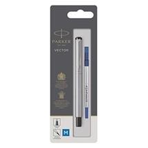 Parker Vector Rollerball Pen with Medium Nib, Blister Pack - Stainless Steel  - $24.00