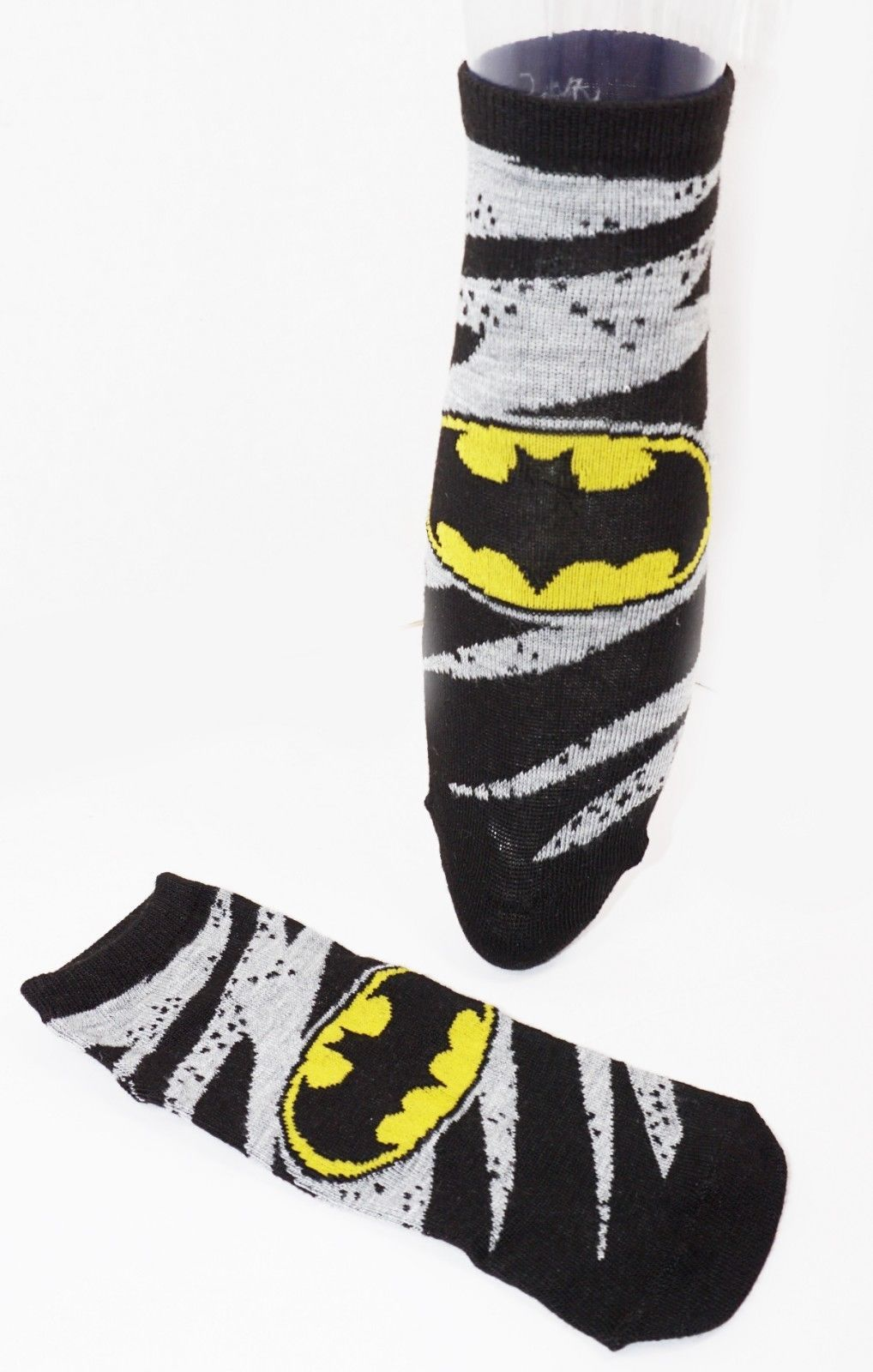DC COMICS 3 PACK 1 SET - LOW CUT SOCKS ADULT SHOE SZ 4-10 HYP 2017 STYLE #1