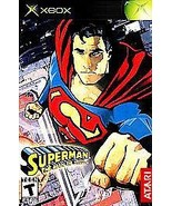 Superman The Man of Steel Pac Man World 2 Lot Microsoft Xbox Disc Only T... - $10.17