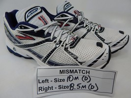 MISMATCH Brooks Ghost 2 Size 10 M (D) Left & 8.5 M (D) Right Men's Shoes White