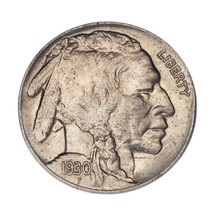 1930-S 5C Buffalo Nickel in Choice BU Condition, Excellent Eye Appeal - $98.99