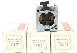 LOT OF 3 NIB EATON CUTLER-HAMMER E22C2 CONTACT BLOCKS 1 N.O - 1 N.C. image 4