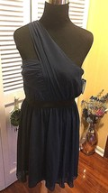 """Vince Camuto Blue Polyester """"Sumptuous Rebel"""" One Shoulder Dress NWT - S... - $47.99"""