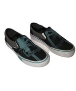 Skechers Cali Hollywood Blvd 6300 W Sneakers Slip On Shoes Black Teal Blue 9.5 - $25.73