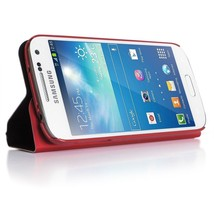 Targus - iStore Folio Case with Multi-view stand for Samsung Galaxy S4 - Red - $9.99