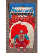 Vintage 1984 Mattel Masters Of The Universe Roboto Figure With Cardback - $34.99