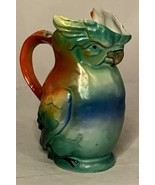 Vintage Cockatiel Parrot Parakeet Bird Pitcher 6 in. tall Made in Germany - $24.74