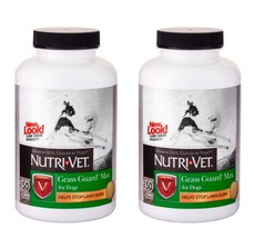 Lawn Burn Control for Dogs 2 PACK 300 Liver Chewable Tablets Made in USA - $29.69