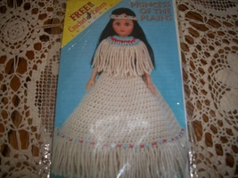 Indian Princess Of The Plains & Southern Belle Crochet Dress Patterns  - $5.00