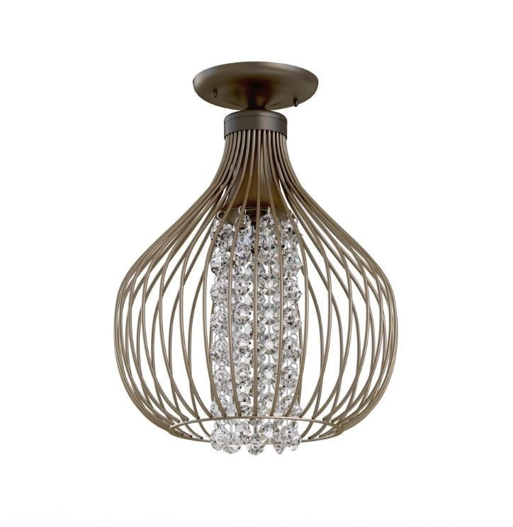 Shabby Chic Chandelier Small Accent Lighting Hall Light