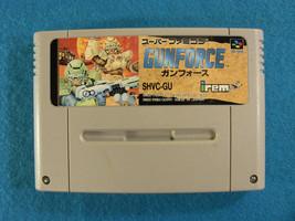 GunForce (Nintendo Super Famicom SNES SFC, 1992) Japan Import - $22.36