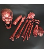 Halloween Rotting Bones 14 pieces Props Halloween Decoration Scary Blood... - $65.90