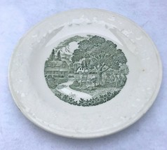 "Homer Laughlin Pastoral  Saucer 5 3/4""  Green print - $2.48"