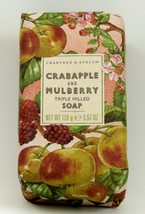 Crabtree & Evelyn - Crabapple & Mullberry Bath Triple Milled Bar Soap - ... - $9.99