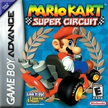 Mario Kart Super Circuit GBA Great Condition Fast Shipping - $29.93