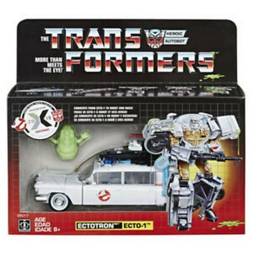 Transformers Ghostbusters Etcotron ECTO-1 In Stock