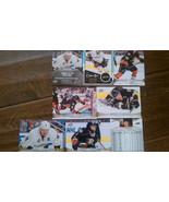 2011-12 Upper Deck Anaheim Ducks Carte Ensemble Selanne Sp Perry Getzlaf... - $11.96