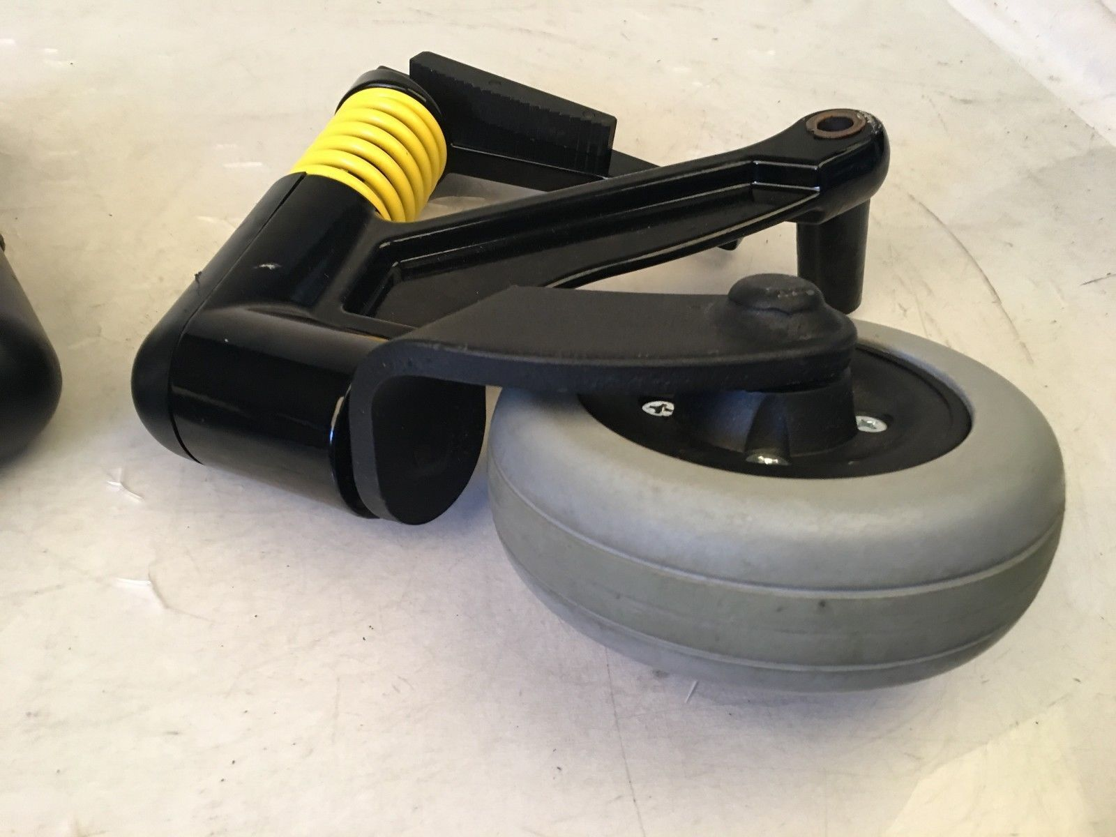 Anti-Roll/Tip Bars w/ Caster Wheels from Invacare Storm TDX5 Power Wheelchair
