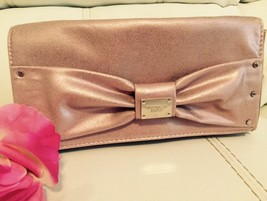 New Victoria Secret PasTel Pink Cosmetic Makeup Bag Clutch Bag Elegant! - $18.80