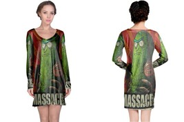 Massacre Pickle Rick Night Dress - $23.99+