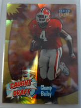 1999 Fleer Ultra #4 Champ Bailey Redskins Caught in the Draft Football Card - $1.00
