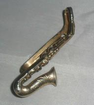 Vintage Swank Tie Clip ~ Saxophone - $11.83
