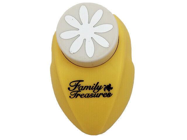 Family Treasures 8 Petal Flower or Daisy Punch