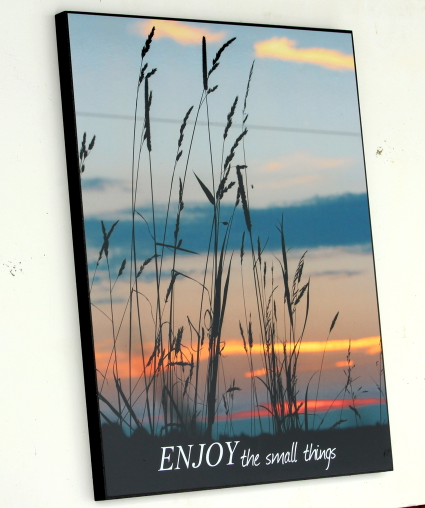 Sunset Inspirational Decorative 16 in x 20 in Wall Hanging Board