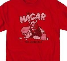 Hagar the Horrible Comic strip Retro 70's Sunday Funny's graphic T-shirt KSF171 image 2