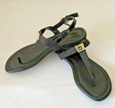 New! Marc Fisher Women's Ademi Slingback Sandals Black Sz 6.5 Fast Shipping! - $23.70