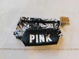 Rosa Da Victoria's Secret Donna Bustina Set Di 2 Custodia Cosmetico Borsa Nuovo - $34.64