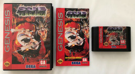 ☆ Sub Terrania (Sega Genesis 1994) COMPLETE in Box Game Manual Works ☆ - $15.99