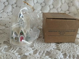 Avon The Gift Collection Snow Frost Falls Victorian Village Light Cover ... - $7.75